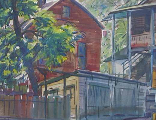 Back Porches, Harold Kee Welch