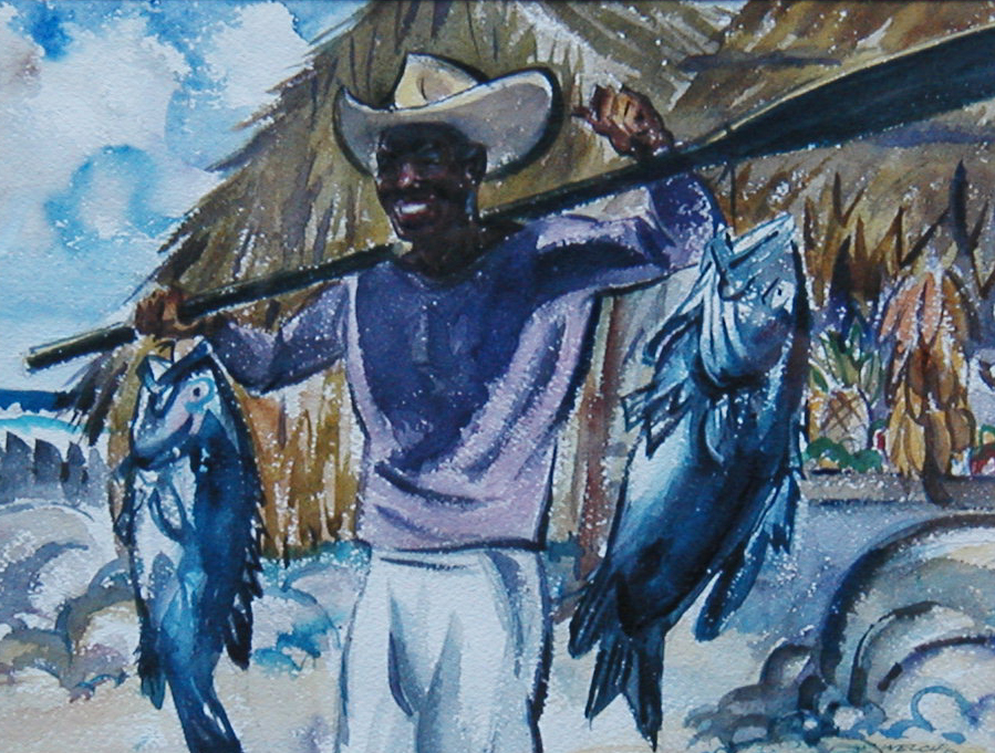 Black Sea Bass, Harold Kee Welch