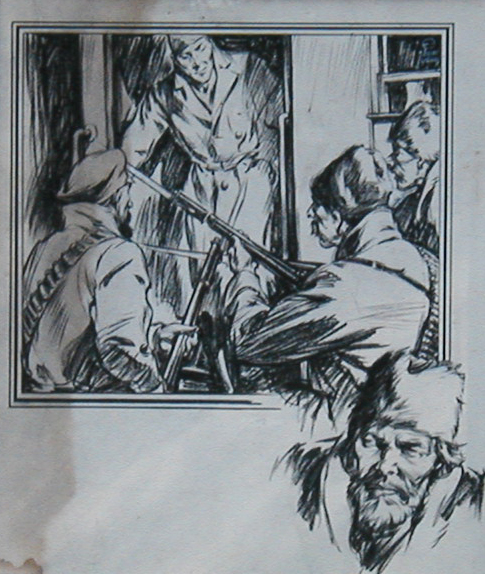 Cossacks on Train by Eluiot(?) Brown