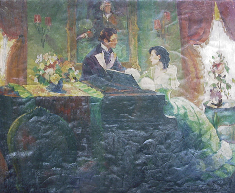 Couple At Piano