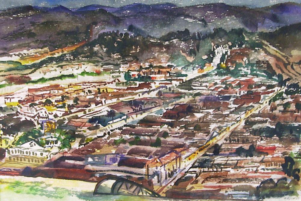Cuidad De Las Casas, Harold Kee Welch, 1957