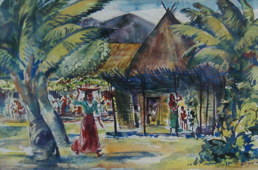 Mexican Paradise by Harold Kee Welch, 1950