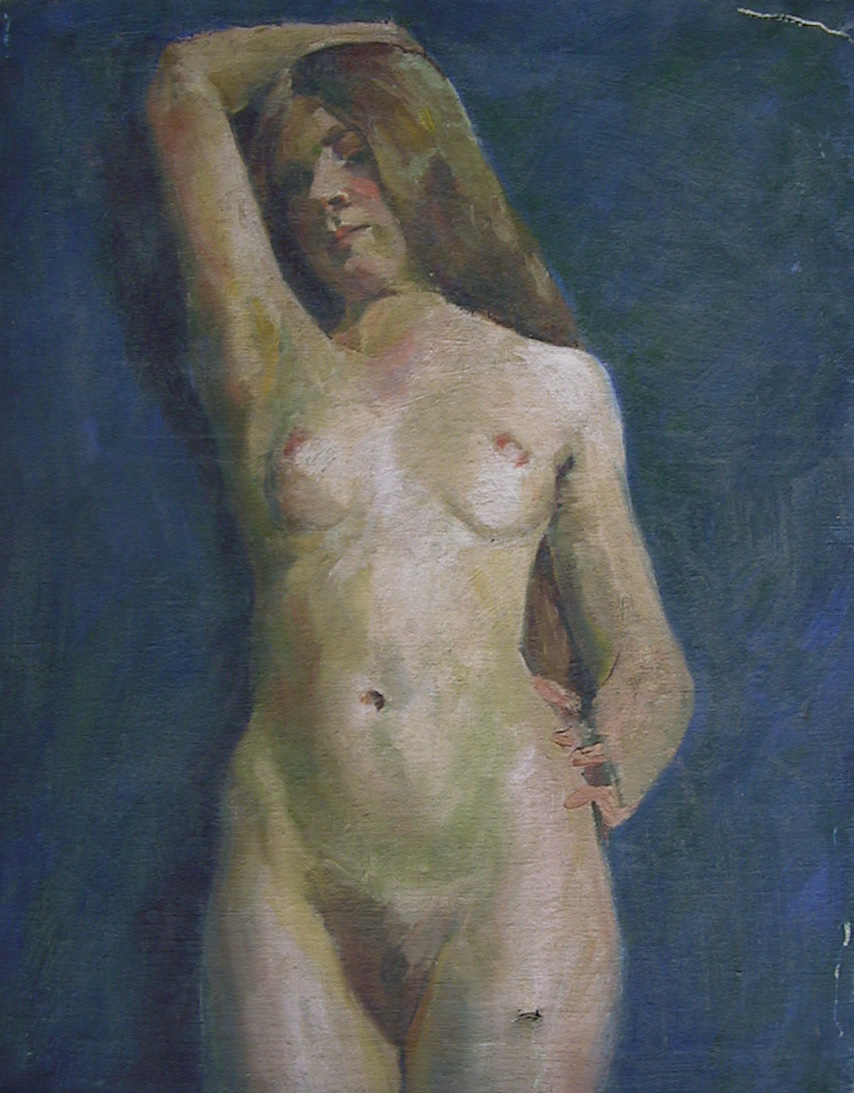 Untitled Female Nude Study