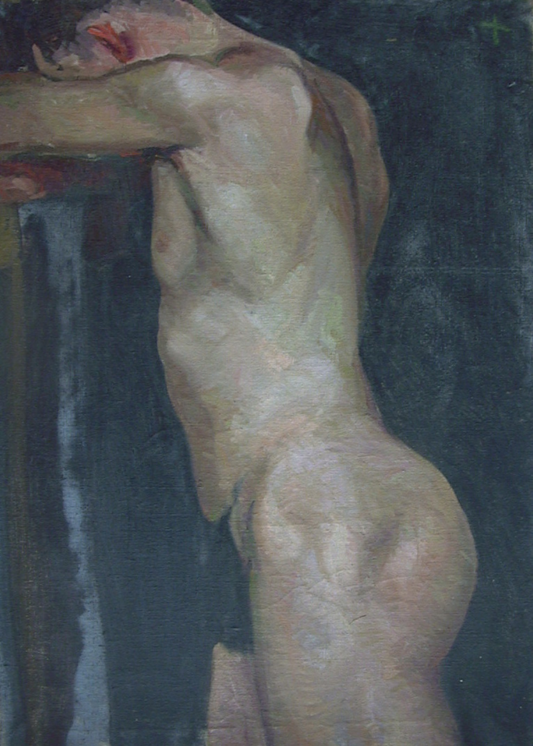 Untitled Male Nude, Harold Kee Welch, 1927