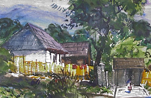 Juan's Casa, Harold Kee Welch, 1957