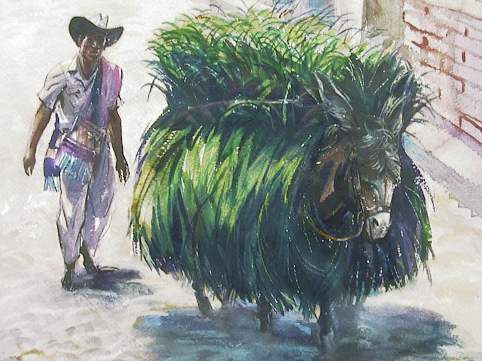 Walking Haystack
