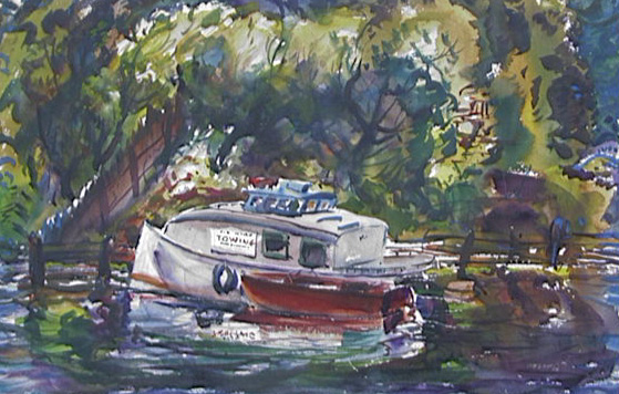 Tow Boats, Harold Kee Welch, 1946