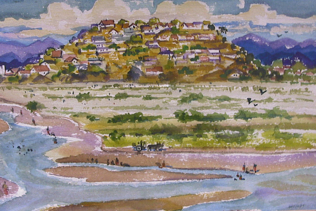 Tehuantepec River by Harold Kee Welch, 1957