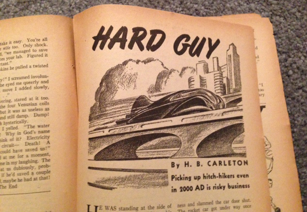 Hard Guy, Amazing Stories, by Harold Kee Welch, 1938