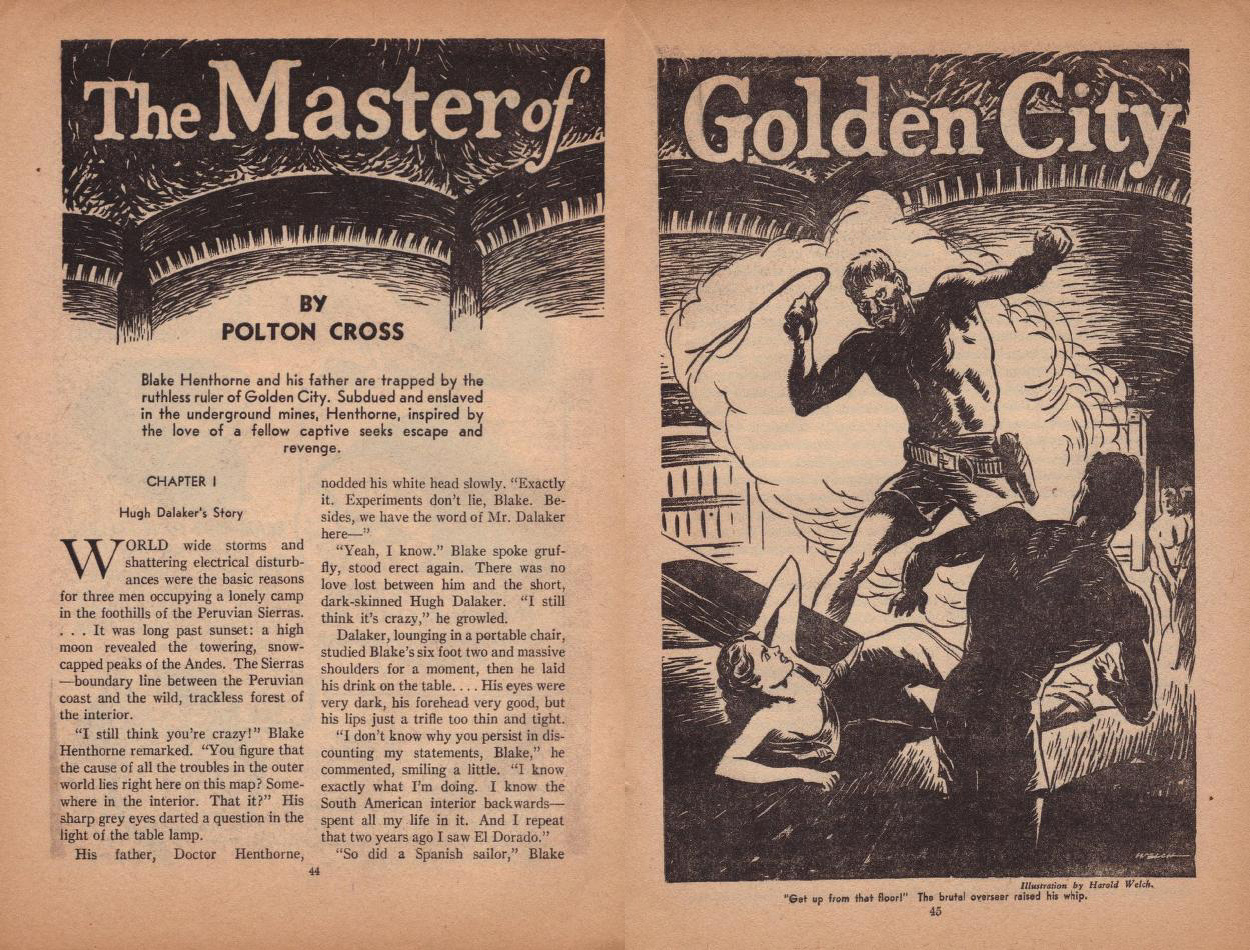 Master of Golden City by Harold Kee Welch