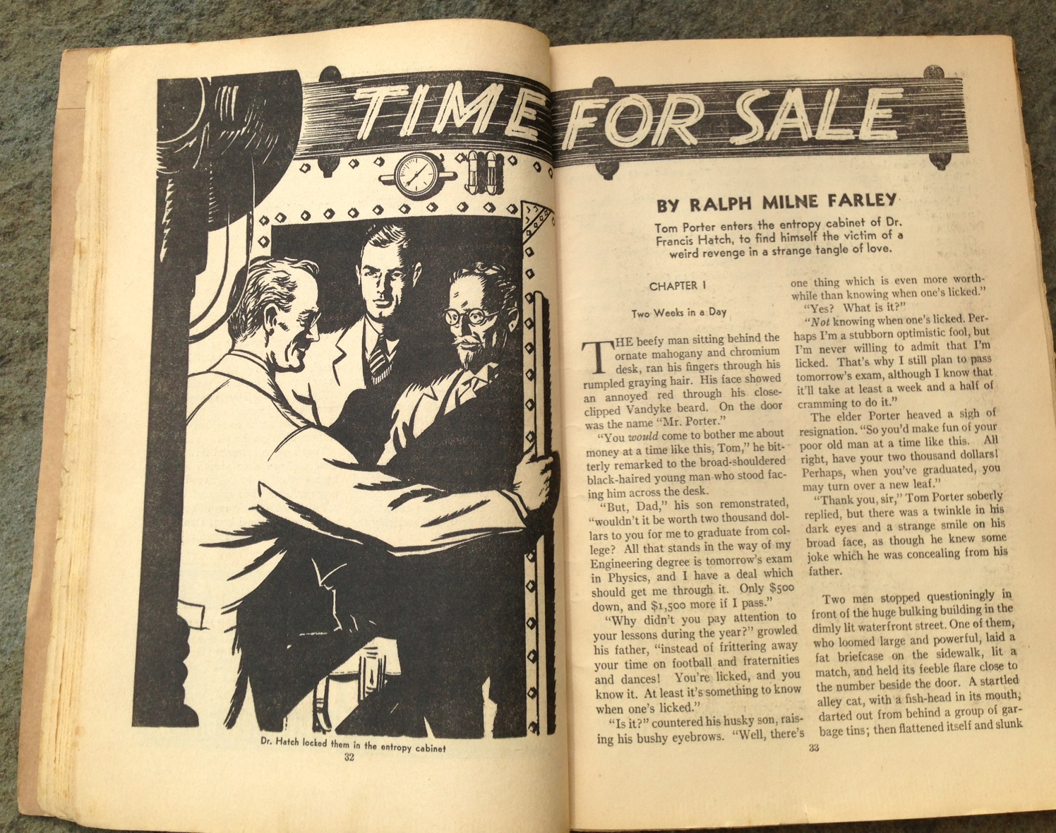 Time for Sale by Harold Kee Welch, 1938